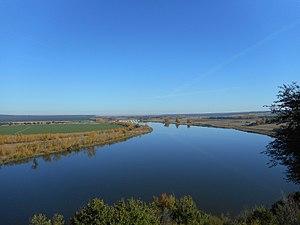 Ribera del Duero en Castronuño desde el mirador de la Muela.jpg