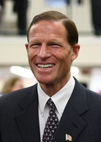 Connecticutt Attorney General Richard Blumenthal