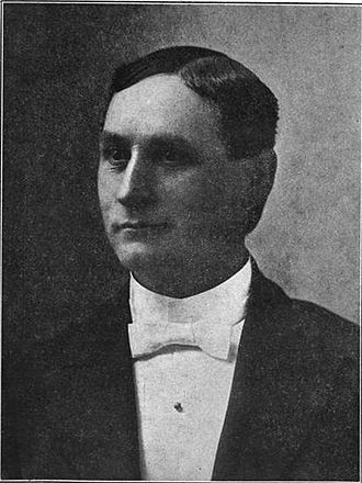 R. C. Evans - A 1909 portrait of R. C. Evans during his time as bishop in the Reorganized Church of Jesus Christ of Latter Day Saints