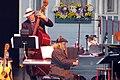 Richard Dworsky on keyboards, Gary Raynor on bass (8843620055).jpg