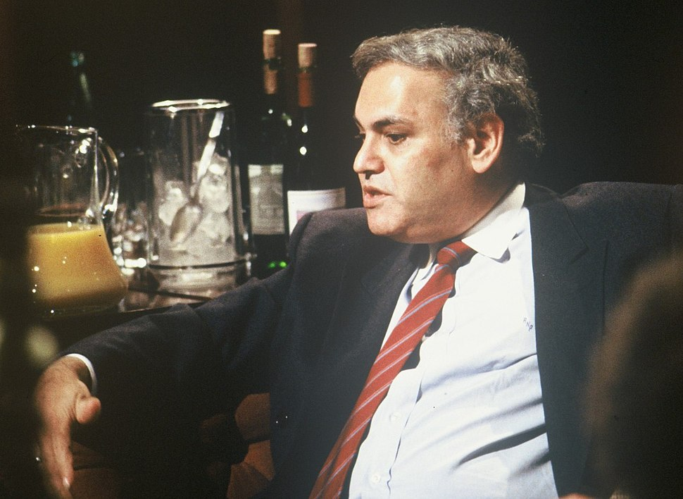 Richard Perle appearing on %22After Dark%22, 10 June 1989