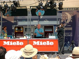 Rick Stein - Stein at a 2006 cookery demonstration in Melbourne, Australia