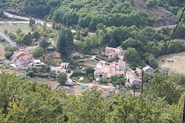 Rieussec seen from the hillside