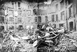 Ringtheater - The ruins of the fire at the Ringtheater, 8 December 1881