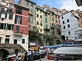Riomaggiore, going down to the harbour.jpg