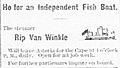 Rip van Winkle ad DailyAstorian 11 May 1881 p4.jpg