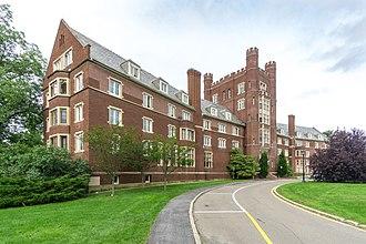 William Henry Miller (architect) - Image: Risley Hall, Cornell University