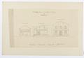 Ritning till badinrättning vid Medevi, 1879 - Hallwylska museet - 102530.tif