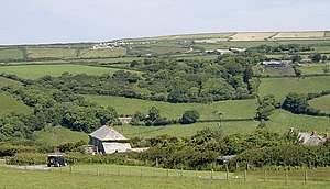 Lesnewth - Image: River Valency valley. geograph.org.uk 846884