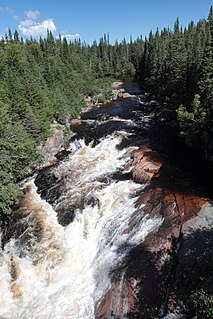 Jupitagon River watercourse in Canada
