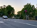 Road access to High Barnet station 2020.jpg