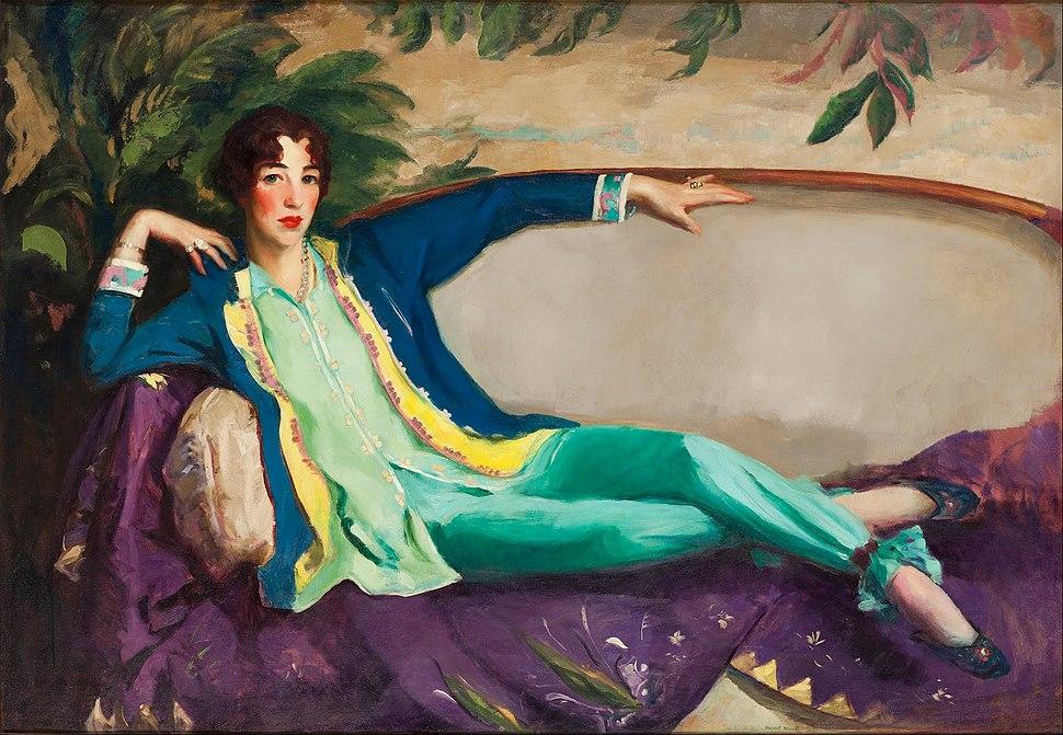 Robert Henri - Gertrude Vanderbilt Whitney - Google Art Project