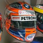 Robert Kubica 2008 helmet 2017 Museo Fernando Alonso.jpg