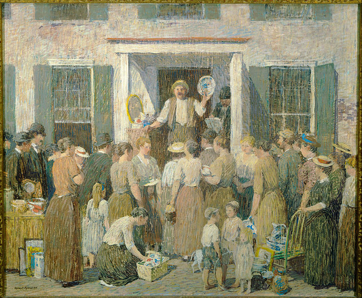 Robert Spencer - Page 2 729px-Robert_Spencer_-_The_Auction_-_Google_Art_Project