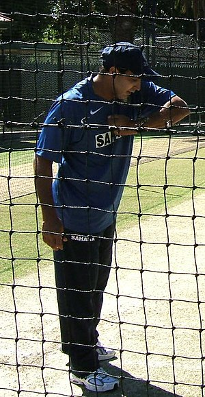 Robin Singh at Adelaide Oval