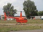 Robinson R44 Raven II, UR-SUR. Kiev Chaika Airfield.JPG