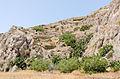 Rock formations near Exomitis - Santorini - Greece - 02.jpg