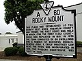 Rocky Mount Virginia state historical marker.JPG