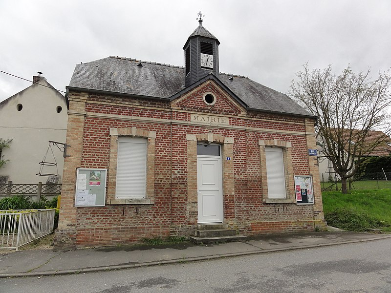 Rogécourt (Aisne) mairie