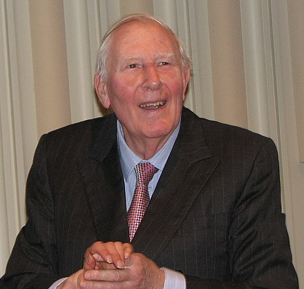 Roger Bannister's win in the mile was a highlight of his career and of Commonwealth Games history. Roger Bannister 2.jpg