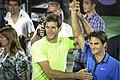 Roger Federer and Juan Martín Del Potro en Tigre (8319330914).jpg