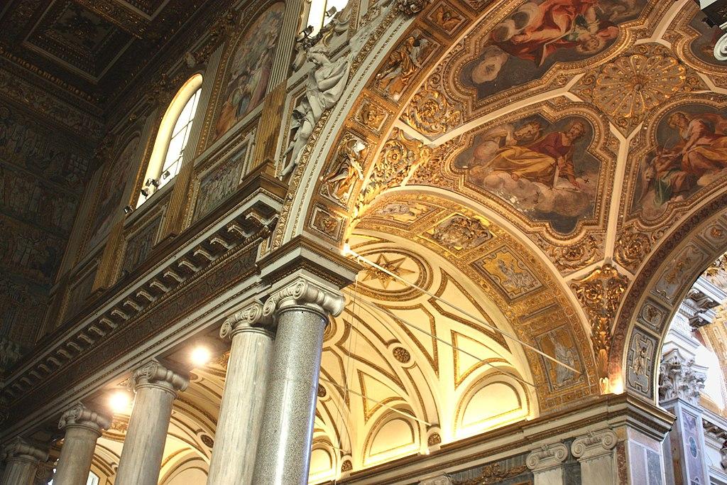 Rom, Santa Maria Maggiore, Innenansicht (Detail).JPG