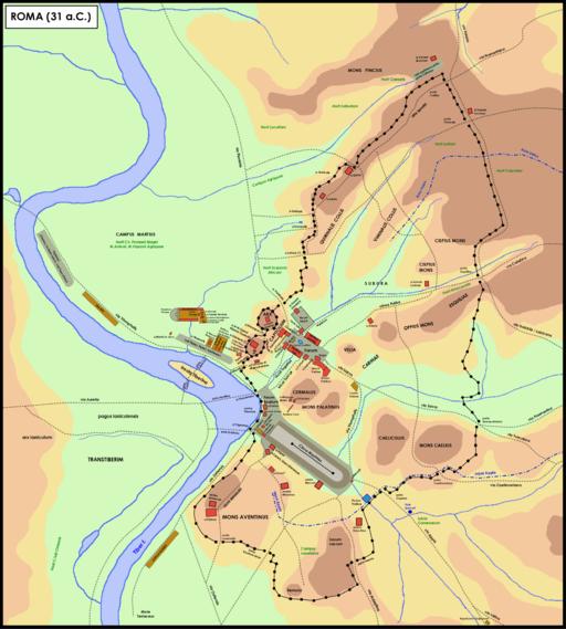 Roma nel 31 aC
