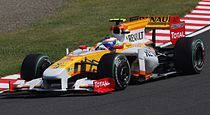 Romain Grosjean 2009 Japan 3rd Free Practice 2.jpg