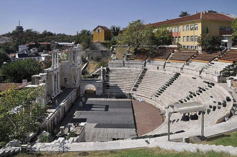 Roman Theatre Plovdiv 3