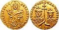 Romanus I with Constantine VII, solidus.jpg
