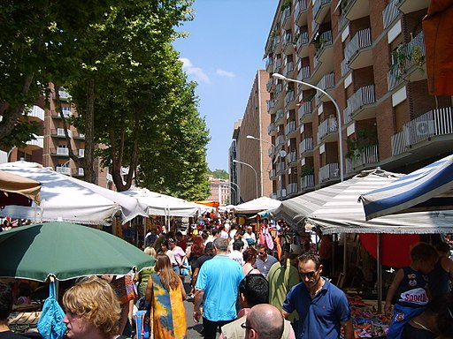 Rome porta portese july 2006
