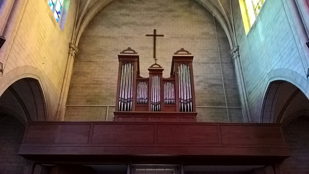 Romilly-sur-Seine, orgue de l'église