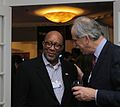 Ron Kirk, US trade representative & John Lipsky, former first deputy managing director for the IMF (8414077667).jpg