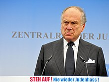 Ronald S Lauder - Rally against anti-Semitism - Berlin 14 September 2014 - 1 - c MichaelThaidigsmann.jpg