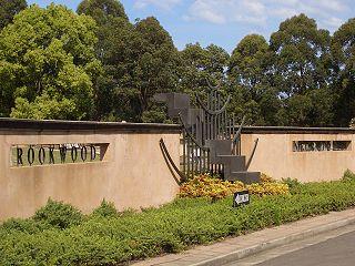 Rookwood Cemetery cemetery in Sydney, Australia