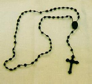 Chaplet of the Divine Mercy - The chaplet is often recited on beads as a rosary-based prayer