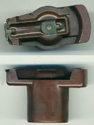 Distributor - Image: Rotor Bakelite