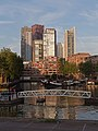 Rotterdam, loopbrug in Leuvehaven foto9 2015-08-02 20.29.jpg