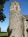 Round tower, Repps with Bastwick church - geograph.org.uk - 1148104.jpg