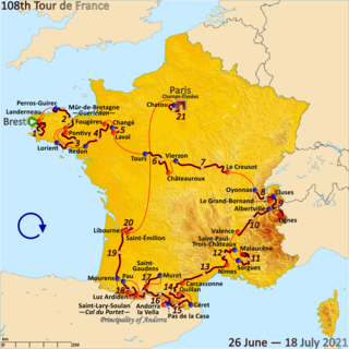 2021 Tour de France cycling race