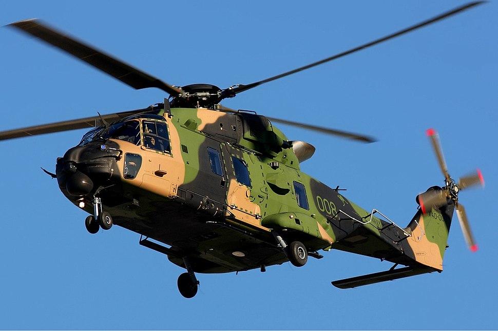 Royal Australian Navy NHI MRH-90 Zhu-1