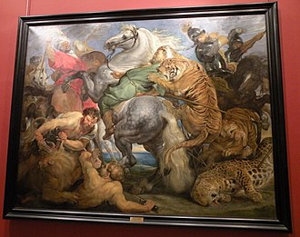The Tiger Hunt - Image: Rubens La Chasse au tigre