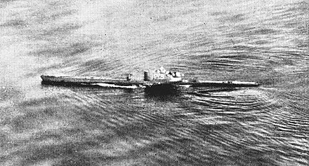 Submarine Rubis. With 22 ships sunk (12 of them German men-of-war) on 22 operational patrols, she achieved the highest kill number of the FNFL. Rubis.jpg