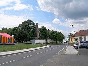Adelheid (film) - Town of Vroutek (German: Rudig), location of the Lužec castle from the film Adelheid