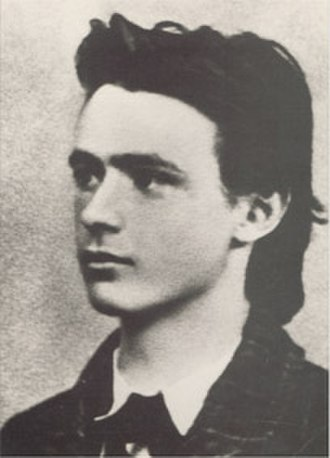 Rudolf Steiner - Rudolf Steiner, graduation photo from secondary school