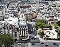 Rue Lagrange and Square René Viviani from Notre-Dame de Paris, 28 April 2018.jpg