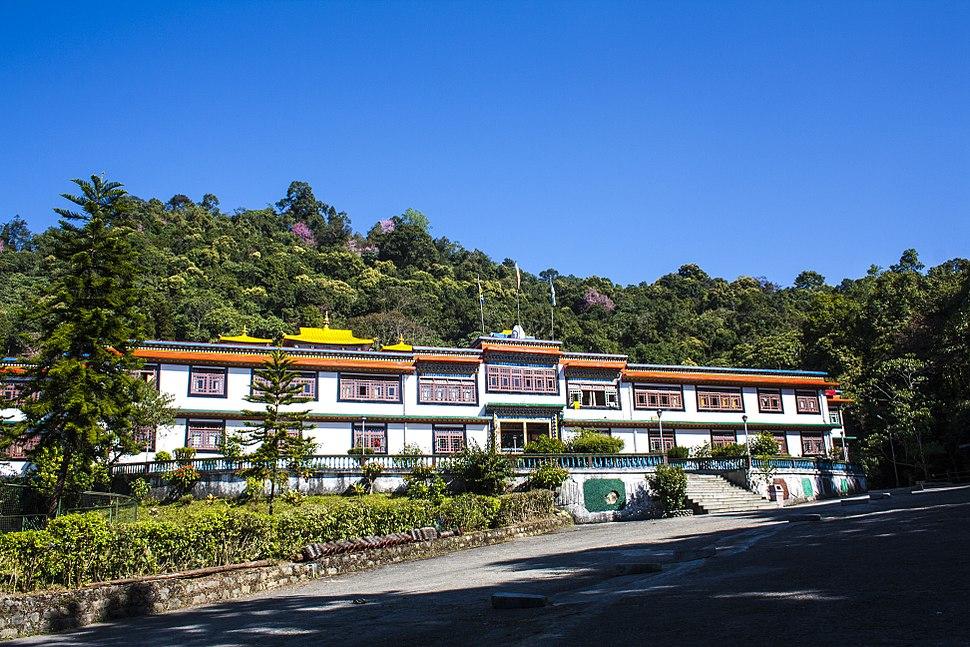 Rumtek Monastery - Front View