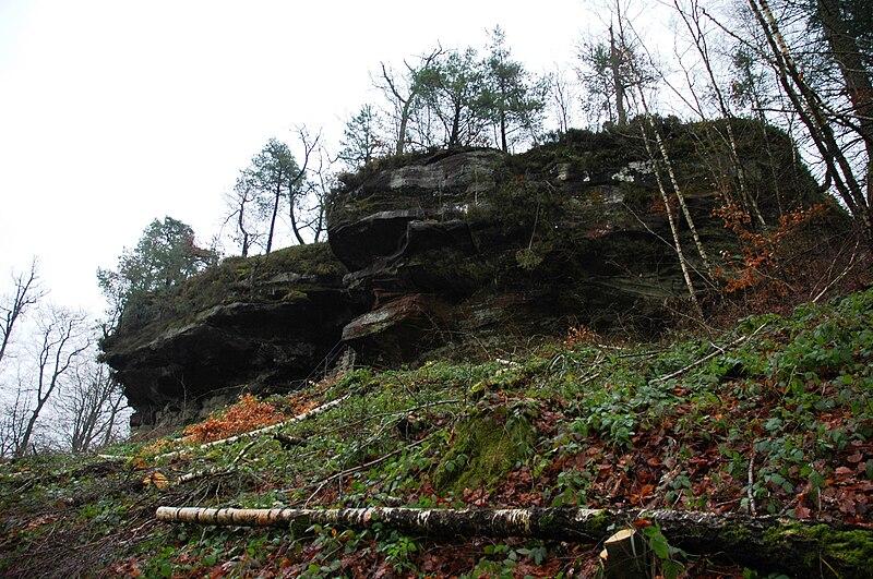 Burg Ruppertstein im Wasgau - das Burgenparadies in der Pfalz