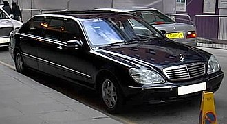 Pullman (car or coach) - Mercedes-Benz S600 Pullman