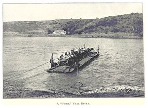 Vaal River - Old Picture